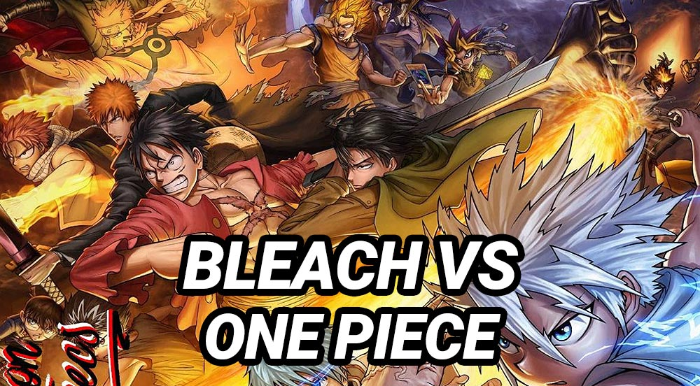Dota 2 Bleach vs One Piece
