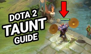 Dota 2 Taunts: How to Activate and use a Taunt?