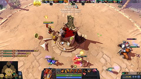 Dota Overthrow Screenshot