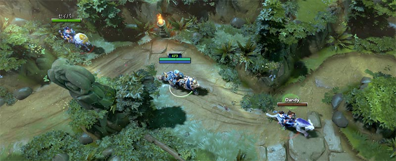 Dota Racing Screenshot