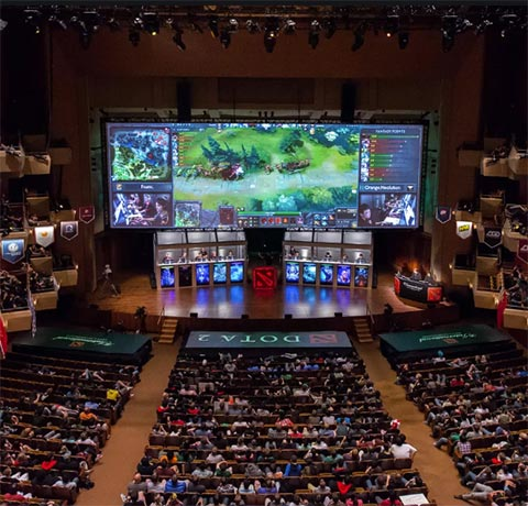 Dota 2 Progamer Events