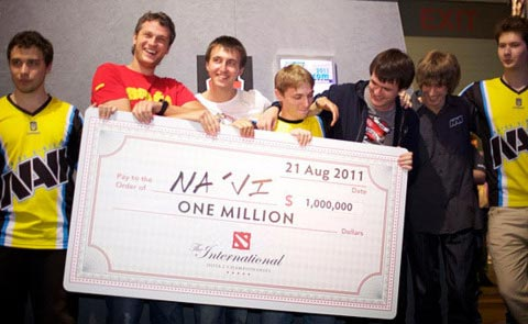 Dota 2 International 2011 Team Navi