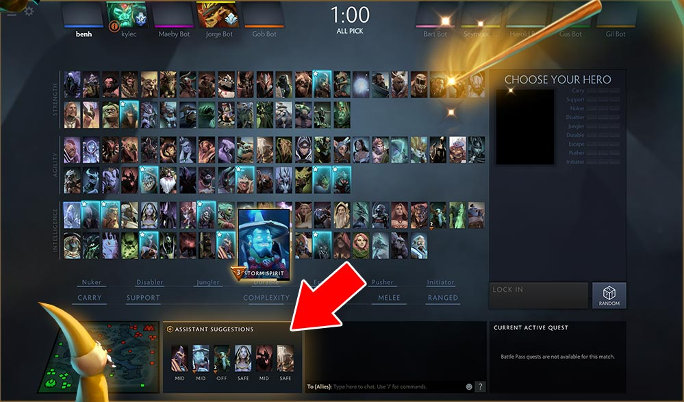Dota Plus Pick Helper
