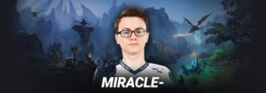 Miracle The Best Dota 2 Progamer Ever with over 9000 MMR