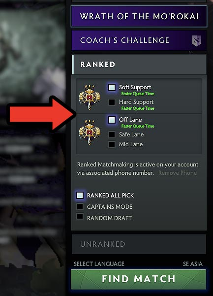 dota 2 unranked matchmaking