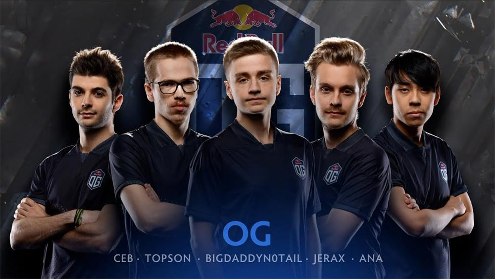Team OG 2018 with Ana