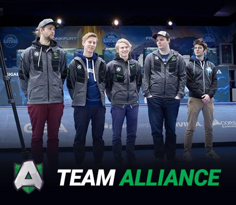 Team Alliance with Ceb