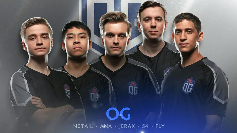Team OG with Ana and Fly
