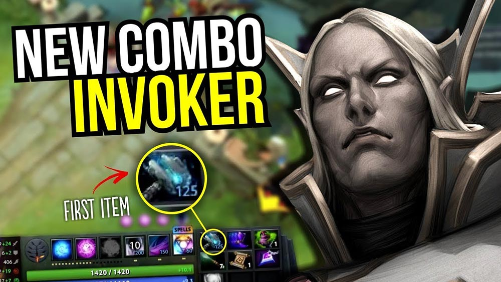 Invoker with Meteor Hammer