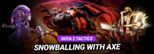 Dota 2 Tactic (5vs5) - Axe Snowball Healing Push