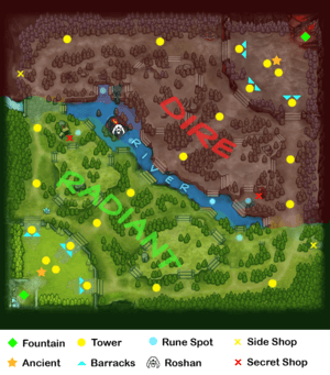 Dota 2 Map Preview