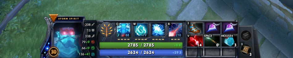 Storm Spirit Mid Game Items