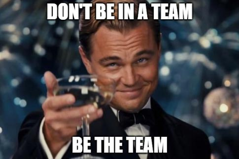 be the team carry in Dota 2
