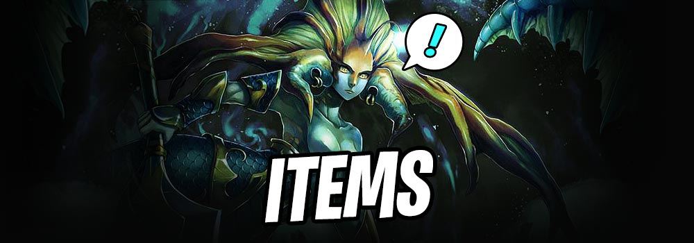 Item Choices Naga Tactic