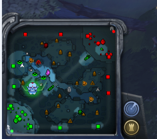 Dota 2 map warding guide jungle vision 1