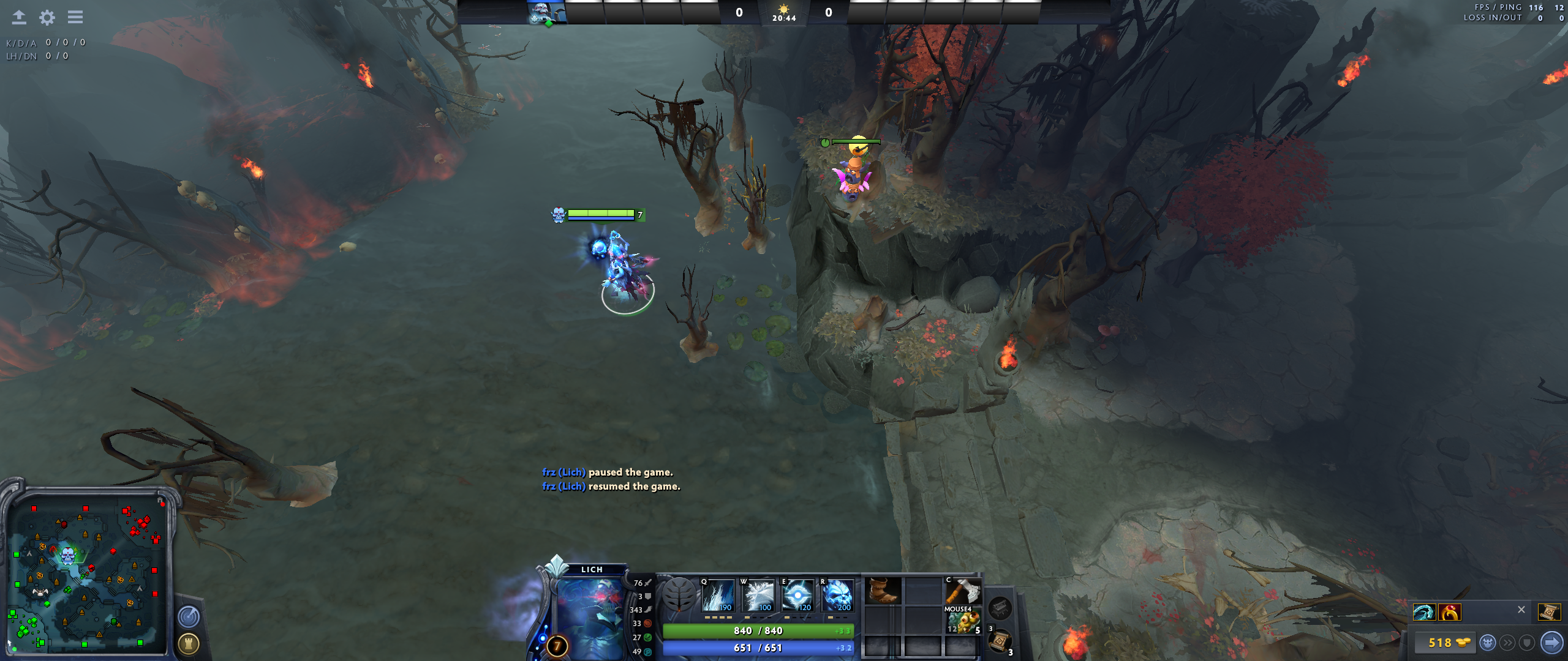 Roshan secret ward